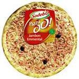 Sodebo Ham & Emmental cheese pizza 470g