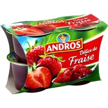 Andros Delice of Strawberries 4x100g