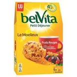 LU Belvita soft Red fruits 250g