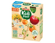 Andros Kidi Fruit Apple & Apricot 4x85g