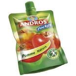 Andros Plain apple stewed pouch 100g