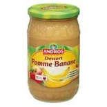 Andros Apple & Banana dessert 750g