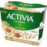 Danone Activia Cereals & chopped walnuts yogurts 4x120g
