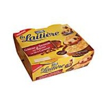 La Laitiere semolina pudding with raisins & caramel 4x100g