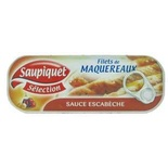 Saupiquet Macherel fillets in escabeche salsa 169g