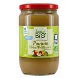 Jardin BIO Organic Apple & William Pear Stewed 680g
