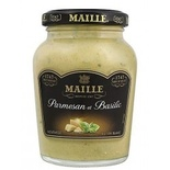 Maille Dijon mustard with Parmigiano & Basil 200ml