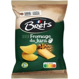 Brets Crisp with Jura Cheese 125g