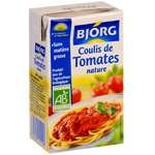 Bjorg Tomatoes coulis Organic 25cl
