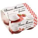 Bonne Maman Strawberry jam Yogurts 4x125g