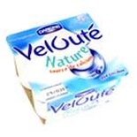 Danone Veloute brewed plain yogurt 4x125g