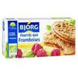 Bjorg Raspberry filled biscuits ORGANIC 175g