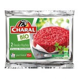 Charal Organic Beef Burger x2 15% FAT 240g
