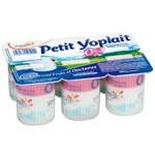 Yoplait Little plain yoplait yogurts 0% FAT 6x60g