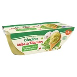 Bledina Idees de Maman Green Vegetables & Mushrooms 2x200g from 8 months