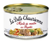 La Belle Chaurienne Sheep Stewed with flageolets  420g