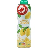 Auchan Lemon cordial 75cl