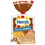 Harry's American sandwich brown bread sliced 600g