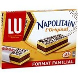 LU Napolitain chocolate cake classic family size 12's 360g