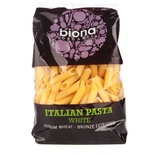 Biona White Penne Organic - bronze extruded 500g
