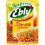 Ebly Express precooked durum wheat with Tomato & Basil 220g