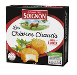 4 x Chevre Chaud (Goat's Cheese) 100g