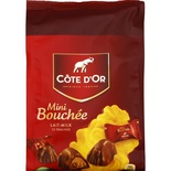 Cote d'or Milk chocolate Mini Bouchee sachet 122g