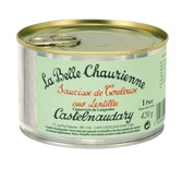 La Belle Chaurienne Toulouse's Sausages with lentils 420g