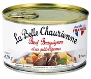 La Belle Chaurienne Beef Bourguignone with vegetables 420g