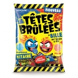 Verquin Tetes Brulees Balls Strawberry & Raspberry  135g