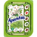 The Laughing Cow Aperivrais Garlic & Herbs 100g