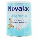 Novalac Allernova from 0 to 36 months (against the allergies) 400g