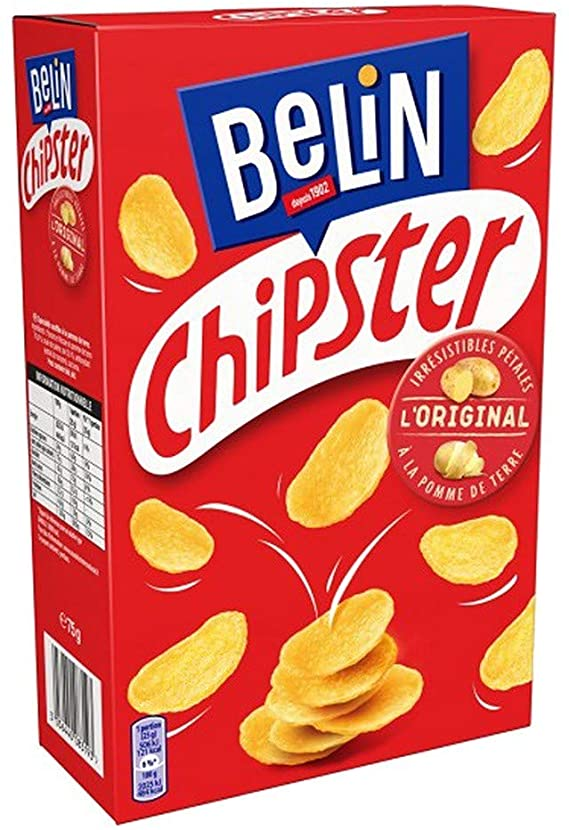 Belin Salted Chipster potato flakes 75g