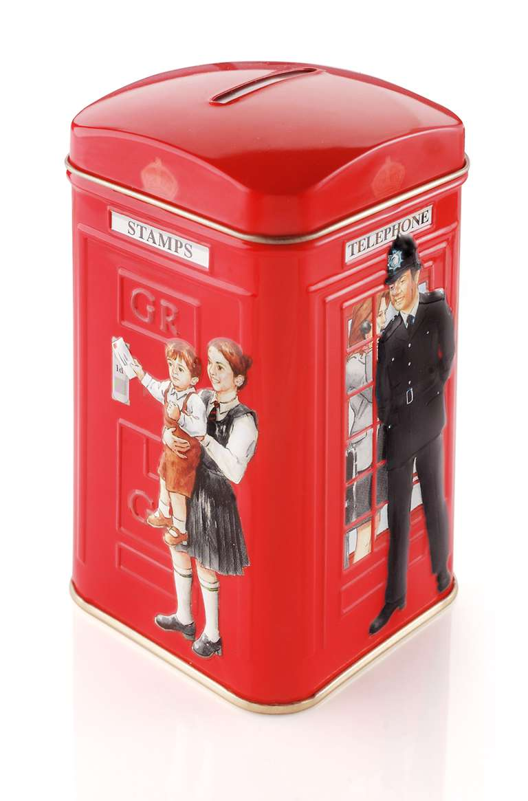 Ahmad Tea Policeman Phonebox Teabags 25's