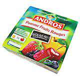 Andros Apple & Red Fruits dessert 4x100g