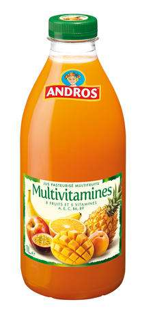 Andros Multi Vitamines Juice 1L