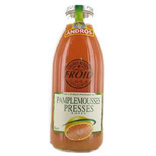 Andros Squeezed Pink Grapefruit juice 1L