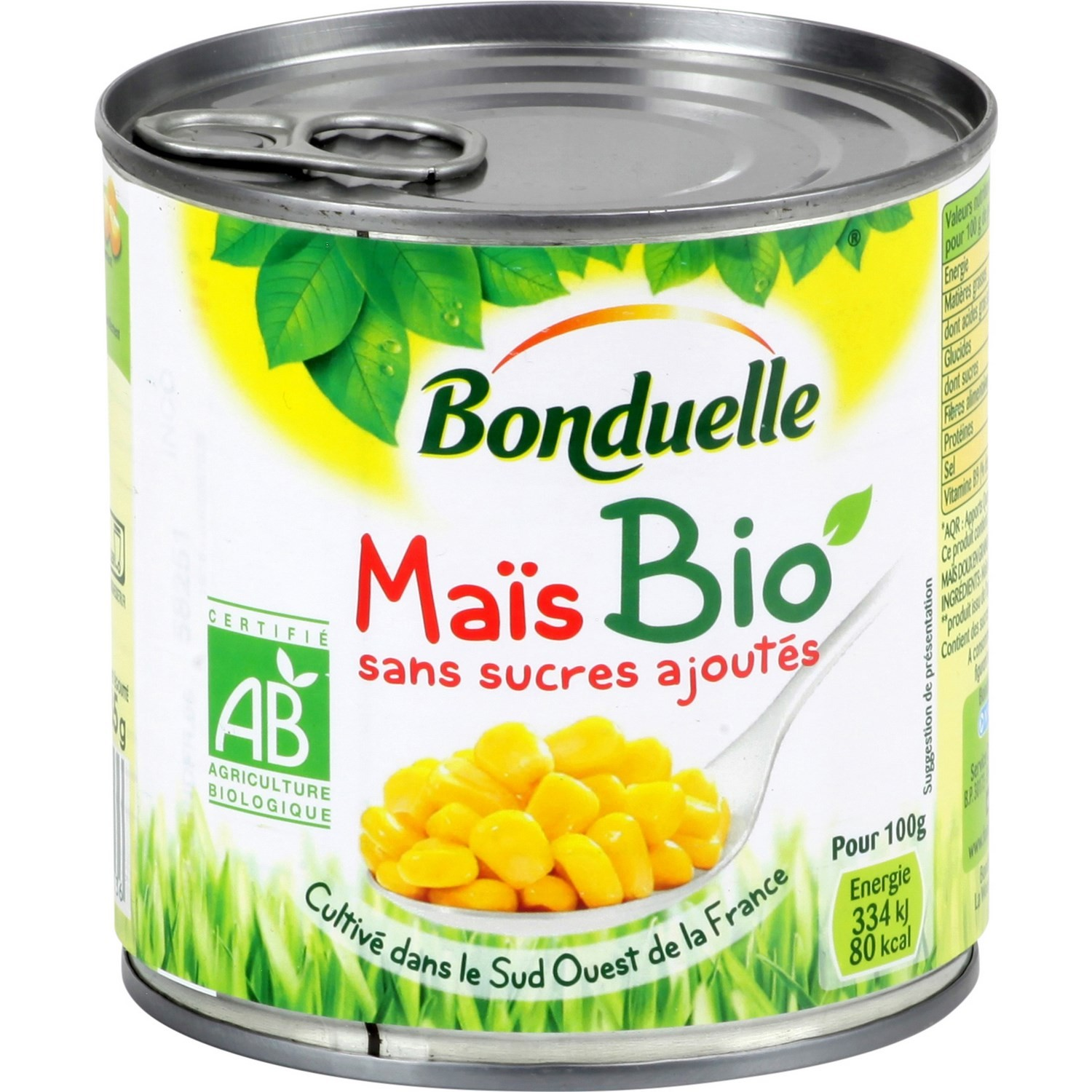 Bonduelle Organic Sweetcorn no sugar added 300g