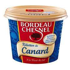Bordeau Chesnel Duck Rillettes (potted duck meat) 220g