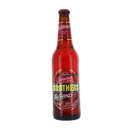 Brothers Strawberry Cider 500ml