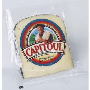 Capitoul Black Tomme from Pyrenees 200g