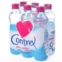 Contrex Natural mineral water 6x50cl