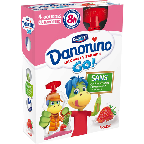 Danone Danonino to drink Strawberry 4x70g