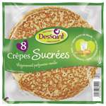 Dessaint Sugared crepes x8 400g