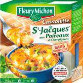 Fleury Michon Cassolette of Scallops with Leeks & Mushrooms  140g