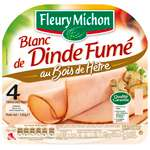 Fleury Michon Smoked Turkey breast x4 thin slices 120g
