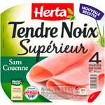 Herta Tendre Noix Ham 4 slices rind free 160g