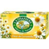 La Tisaniere Herbal Tea Camomile x25 Tea bags