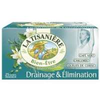 La Tisaniere Infusion drainage & elimination x25 tea bags
