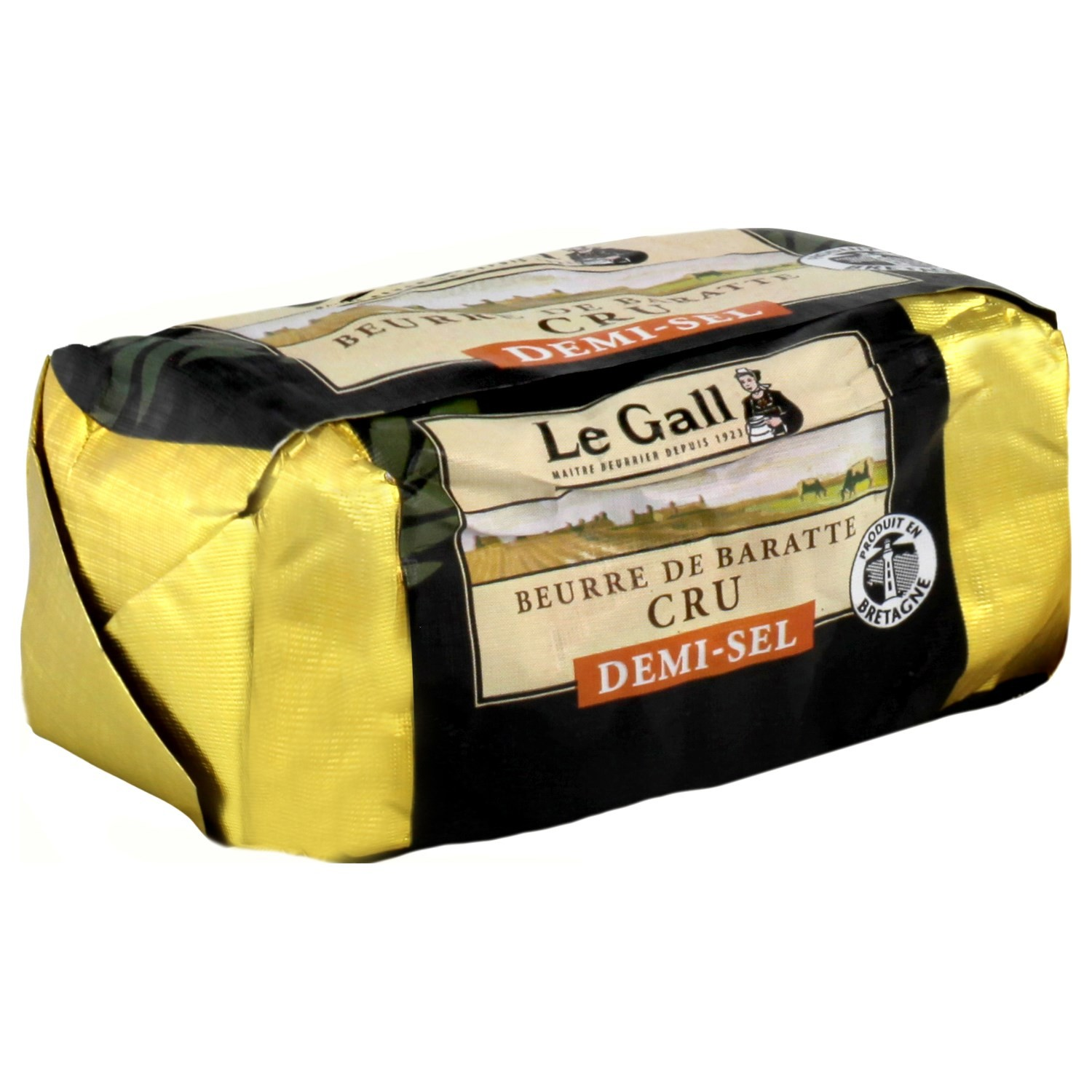 Le Gall Baratte RAW butter salted 250g